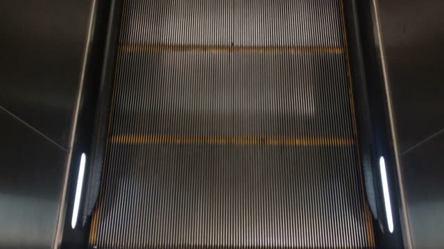flat escalator moving - flat stock videos & royalty-free footage