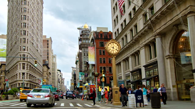 flatiron building - level stock videos and b-roll footage