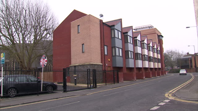flats and homes first time buyers on february 27 2013 in bristol england - occurrence stock videos and b-roll footage