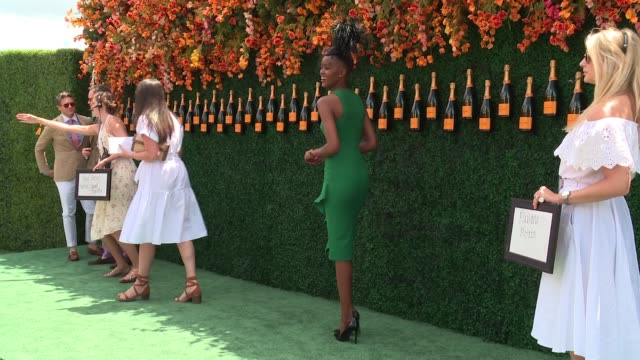 Flaviana Matata at TenthAnnual Veuve Clicquot Polo Classic at Liberty State Park on June 03 2017 in Jersey City New Jersey