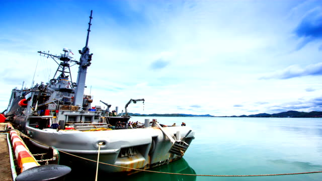 Fleet of Navy Ships