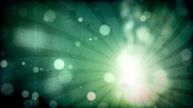 Flickering Grunge Particle Loop Aqua Stock Footage Video