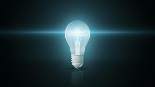 Flickering Light Bulb | 4K