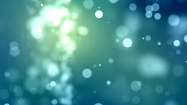 flickering particles loop - aqua (hd 1080) - brightly lit stock videos & royalty-free footage