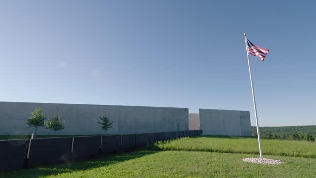 flight 93 national memorial in shanksville pa - pennsylvania stock videos & royalty-free footage
