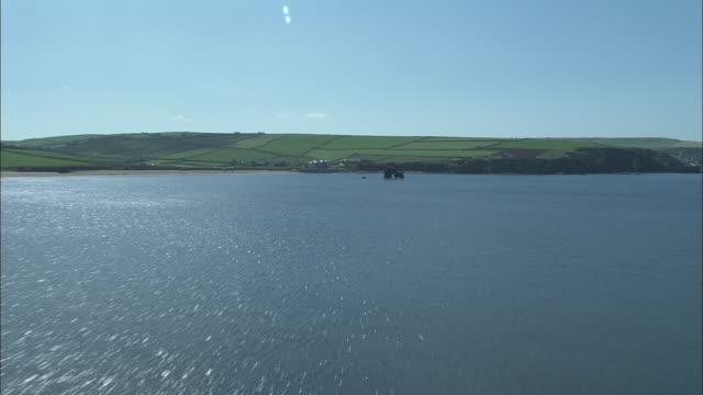 Flight Across Bigbury Bay