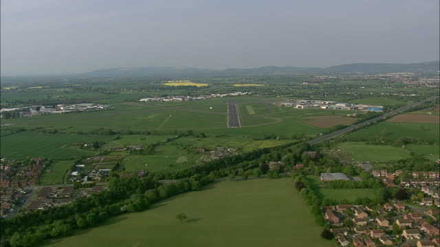 Flight And Approach To Staverton Airport