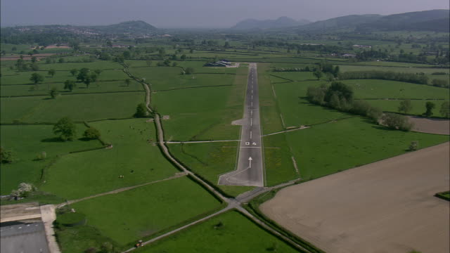 flight and landing at welshpool airfield - number stock videos & royalty-free footage