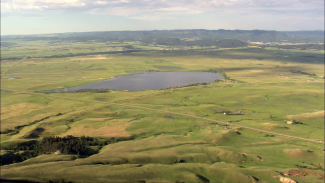 Flight And Reveal Bear Butte  - Aerial View - South Dakota,  Meade County,  United States