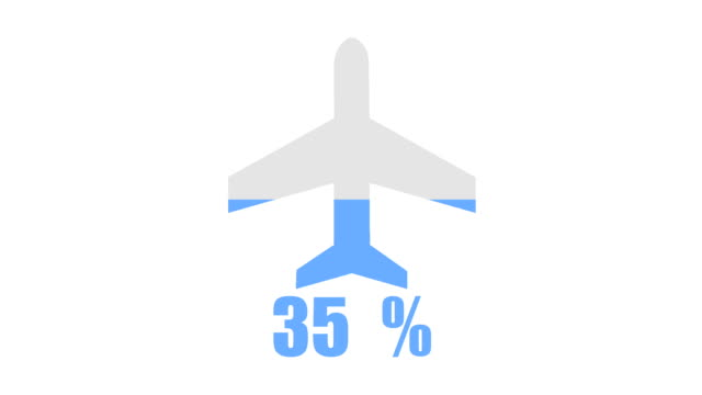Flight and travel inforgraphic design element