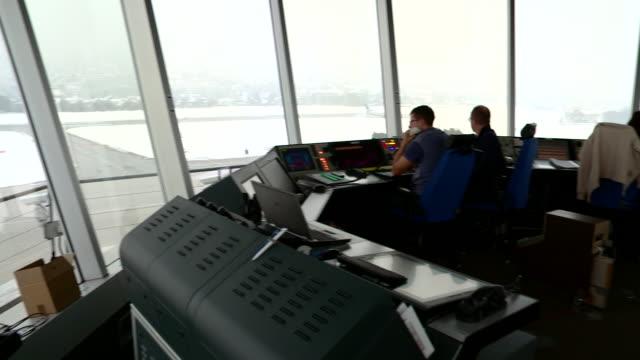 flight controller working - north tirol stock videos & royalty-free footage