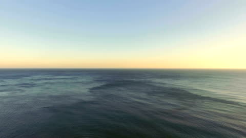 flight from sea shore, aerial video - horizon stock videos & royalty-free footage