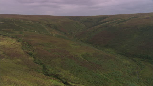 flight into exmoor national park - exmoor national park stock videos & royalty-free footage