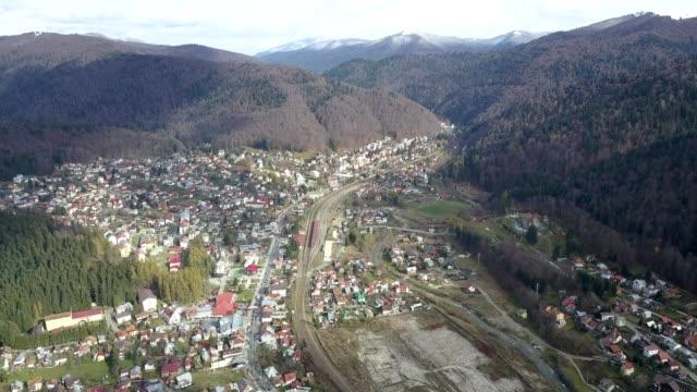 Flight over Busteni, Prahova
