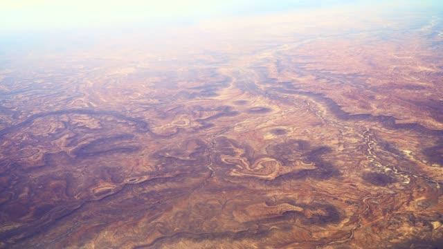 flight over ethiopia - ethiopia stock videos & royalty-free footage