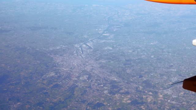 AERIAL POV Flight Over Ghent In Belgium (UHD)