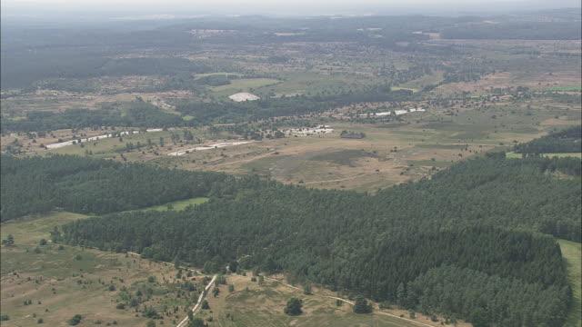 flight over luneburg heath - リューネブルグ点の映像素材/bロール