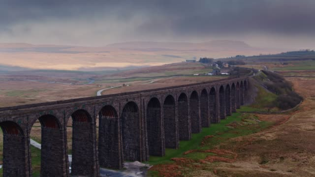 Vlucht Over Ribblehead Viaduct