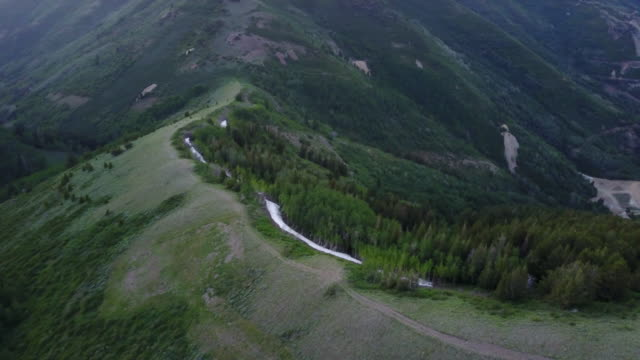 flight over salt lake city copper mine - utah stock videos & royalty-free footage