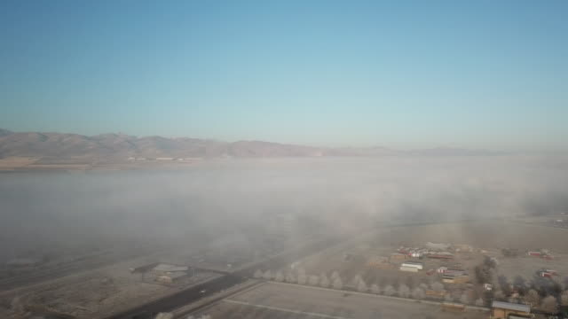 ソルト レイク シティ逆転汚染以上フライト - リーハイ点の映像素材/bロール