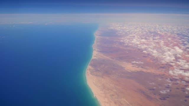 flight over somalia - somalia stock videos & royalty-free footage