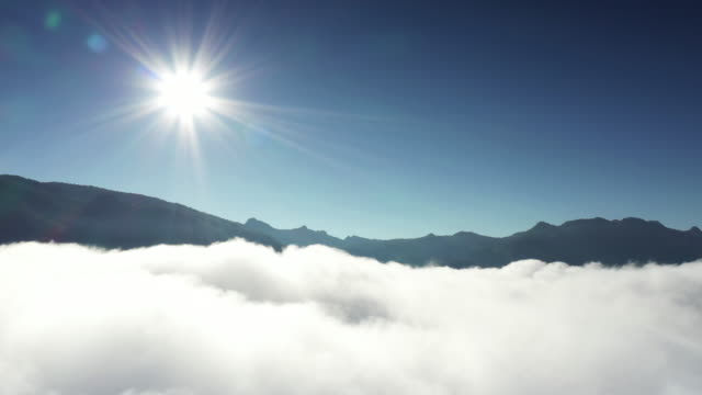flight over the clouds - spirituality stock videos & royalty-free footage