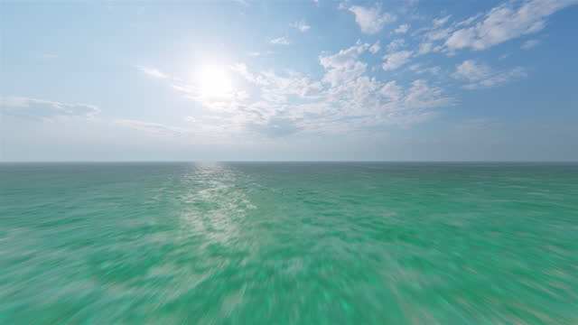 flight over tropical ocean - seabed stock videos & royalty-free footage
