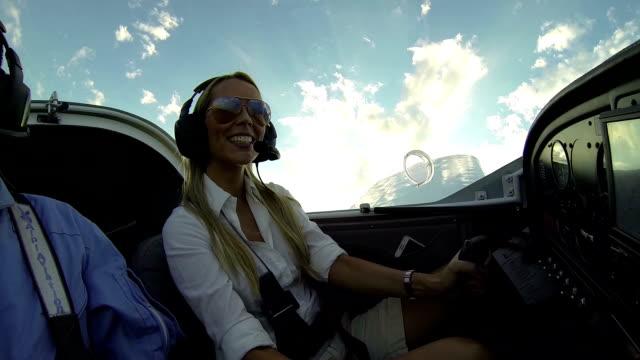 flug school - propeller stock-videos und b-roll-filmmaterial