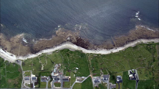 Flight Tracking Galway Coast  - Aerial View - Connaught, Galway, Ireland
