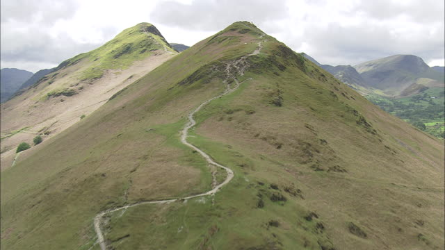 Flight Up The Path To Cat Bells