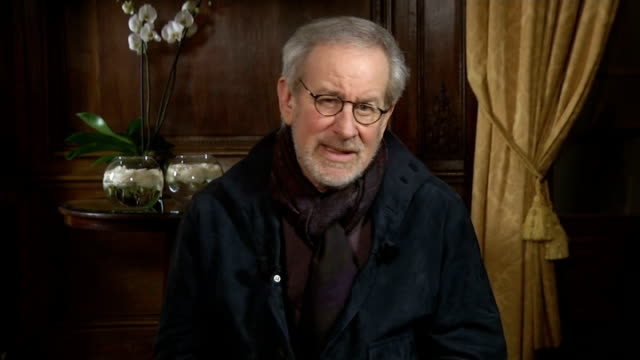 Steven Spielberg talks about his multiOscor nominated biopic Lincoln Spielberg interview SOT You never know until a President is tested what they are...