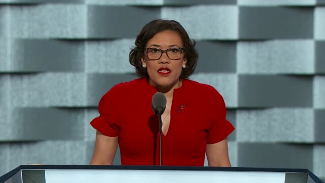 Flint Michigan Mayor Karen Weaver tells delegates at the convention that Flint is a city in crisis that Republicans took control of the city and...