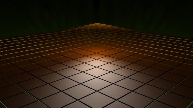 vídeos y material grabado en eventos de stock de cuando se lanza 3d azulejos de alta definición - lanzar actividad física