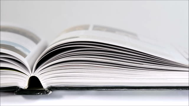 flipping pages - literatur stock-videos und b-roll-filmmaterial