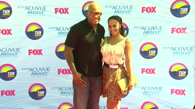 Flo Rida Tramar Dillard Melyssa Ford at 2012 Teen Choice Awards on 7/22/12 in Los Angeles CA