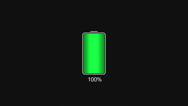 floating battery on the digital bar are being fully charged - sign stock videos & royalty-free footage