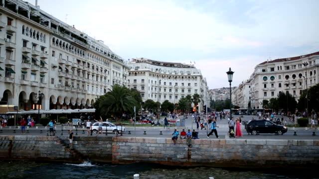 Floating in Thessaloniki