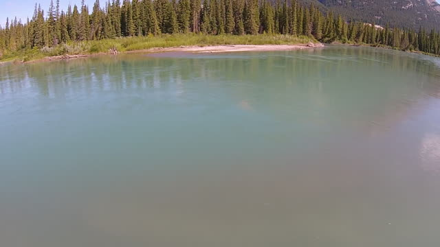 Floating over the Bow River