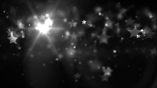 Floating Stars Loop - Evening Silver (Full HD)