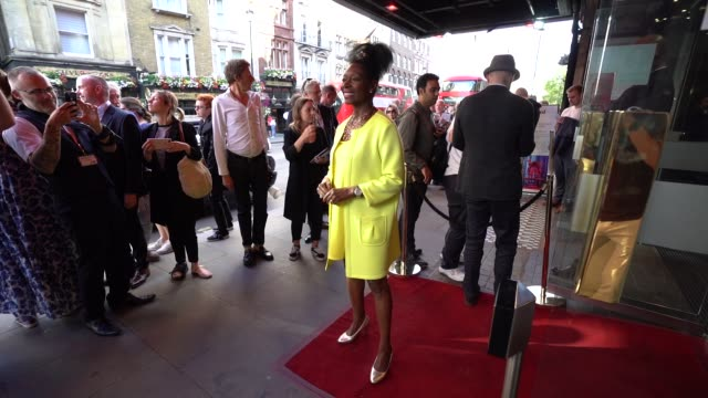 slomo floella benjamin at equus press night at trafalgar studios on july 15 2019 in london england - floella benjamin stock videos & royalty-free footage