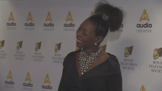 floella benjamin at royal television society programme awards at grosvenor house on march 22 2016 in london england - floella benjamin stock videos & royalty-free footage