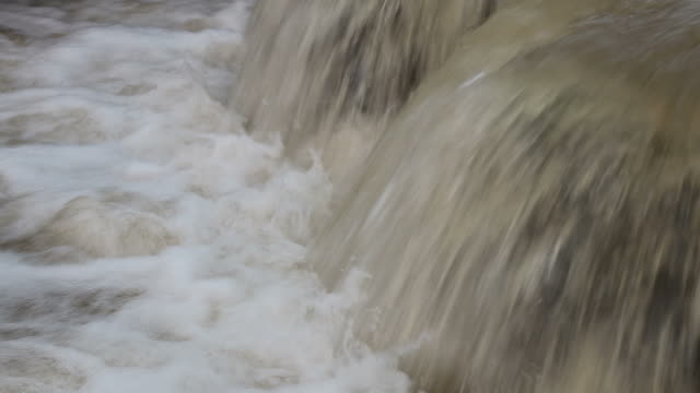 flood overflow pipes in concrete sinks. - pipe stock videos & royalty-free footage