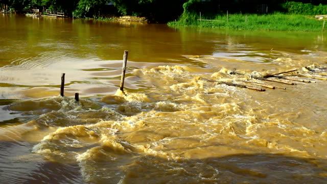 flood, thailand - damaged stock videos & royalty-free footage