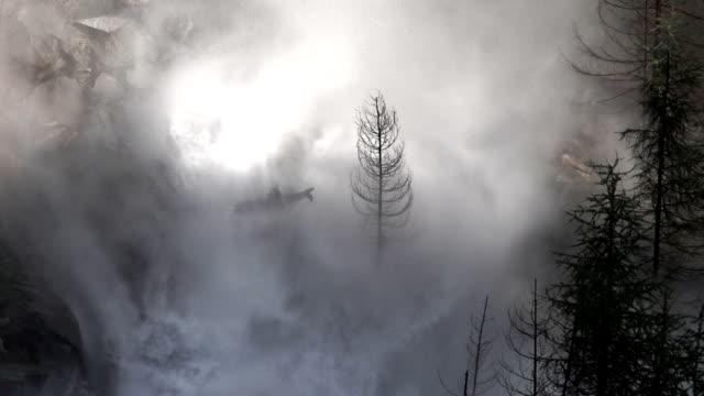 Difusión olas destruir Valley (en bucle