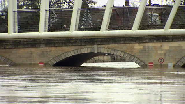 flooded areas in bedfordshire caused by storm bella - ruined stock videos & royalty-free footage