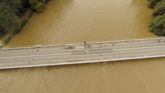 AERIAL Flooded River