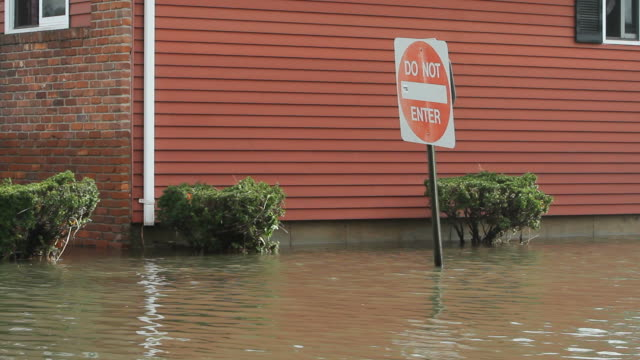 flooding after hurricane sandy - new england usa stock videos & royalty-free footage