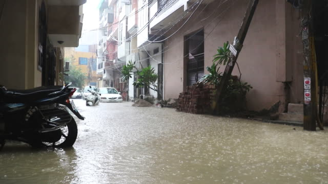 Flooding, New Delhi, India