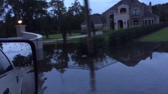Flooding on Highland Rd in Baton Rouge LA