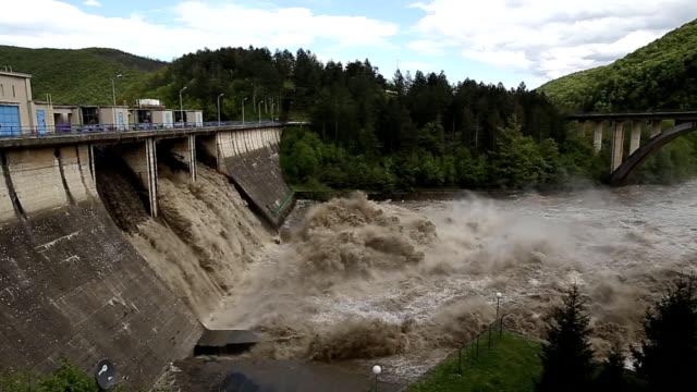 Flooding river (HD)